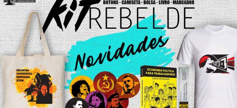 """Financie novos produtos da FDR adquirindo nossos Kits Rebeldes!"""""""